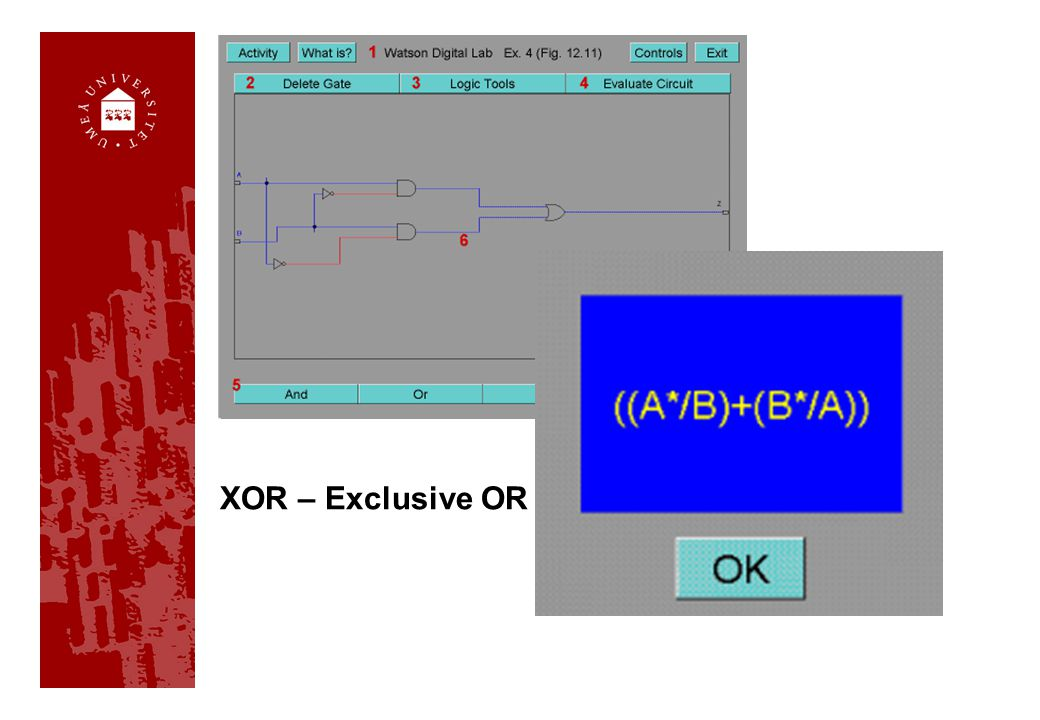 XOR – Exclusive OR