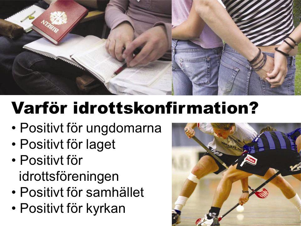 Varför idrottskonfirmation.