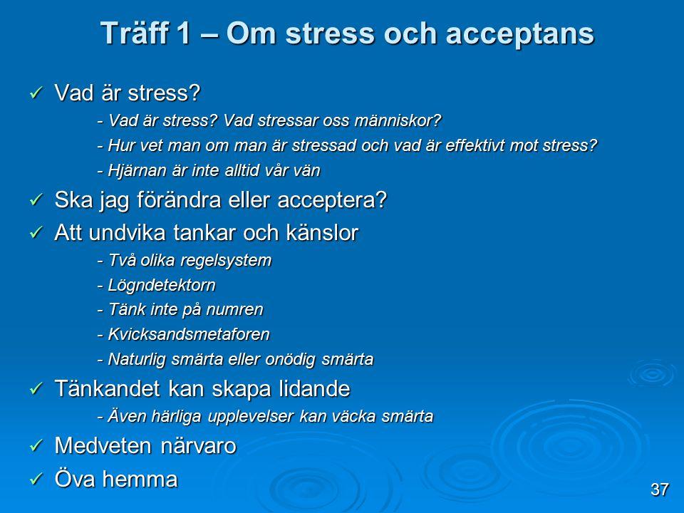 Vad är stress? Vad är stress? - Vad är stress? Vad stressar oss människor? - Hur vet man om man är stressad och vad är effektivt mot stress? - Hjärnan