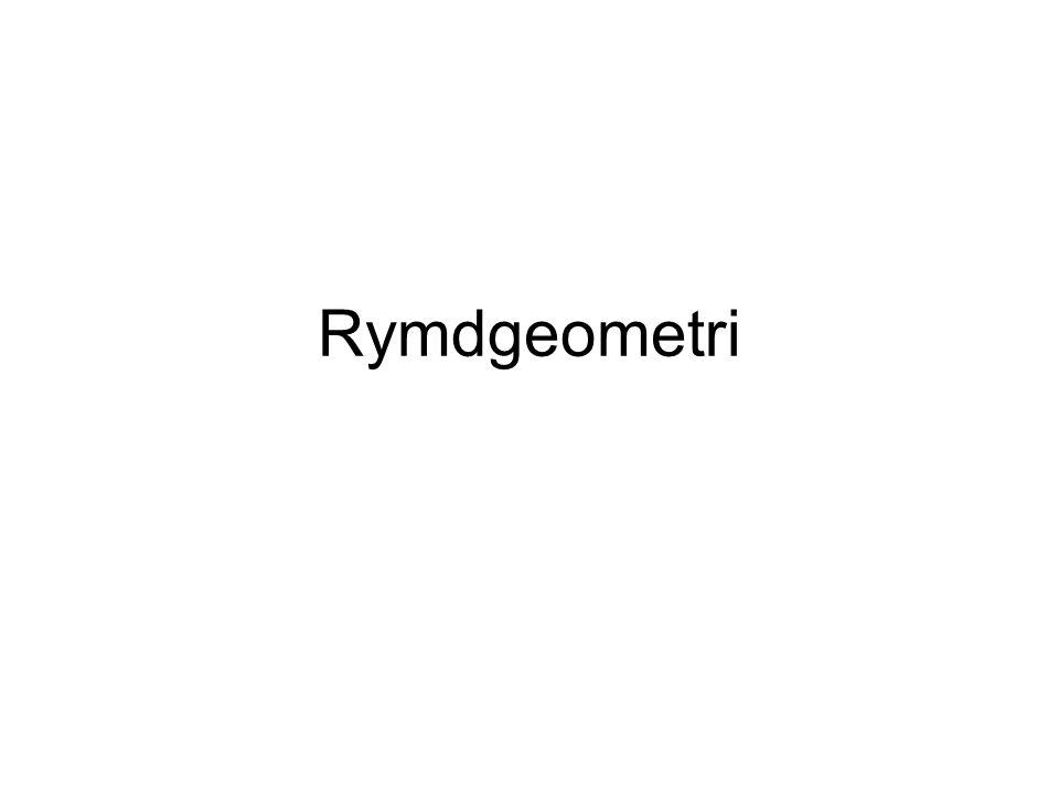 Rymdgeometri