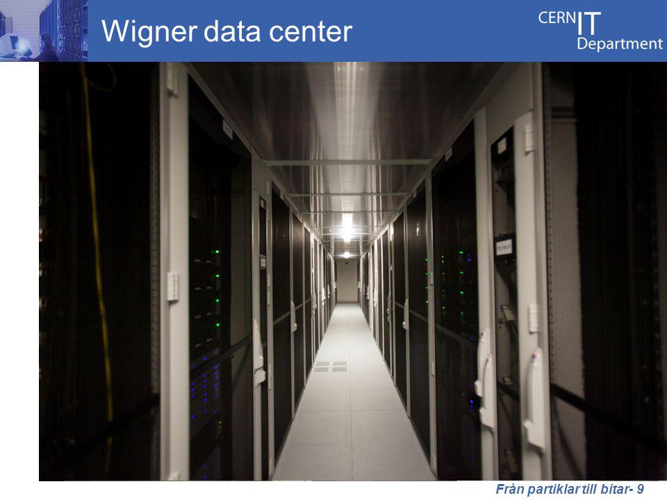 Wigner data center Från partiklar till bitar- 9