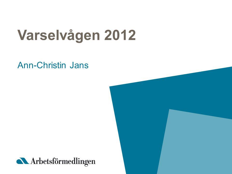 Varselvågen 2012 Ann-Christin Jans