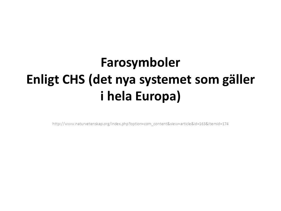 Farosymboler Enligt CHS (det nya systemet som gäller i hela Europa) http://www.naturvetenskap.org/index.php?option=com_content&view=article&id=163&Ite