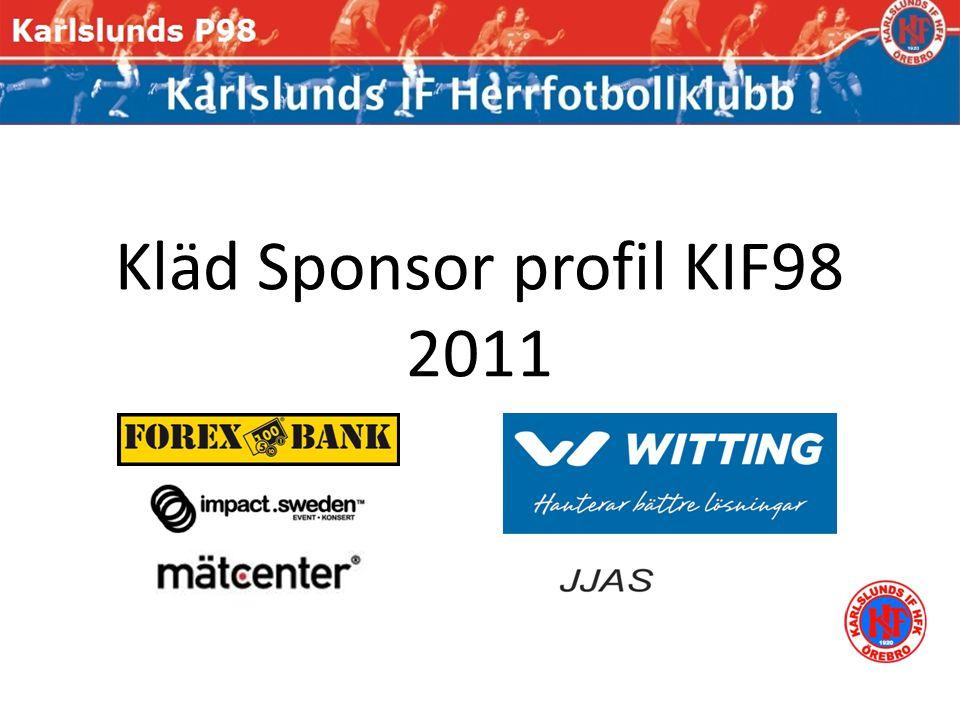 Kläd Sponsor profil KIF98 2011