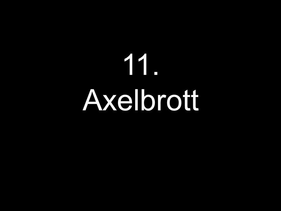 11. Axelbrott