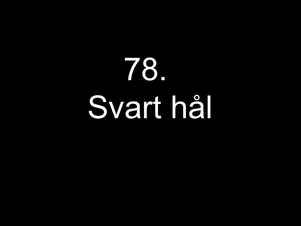 78. Svart hål