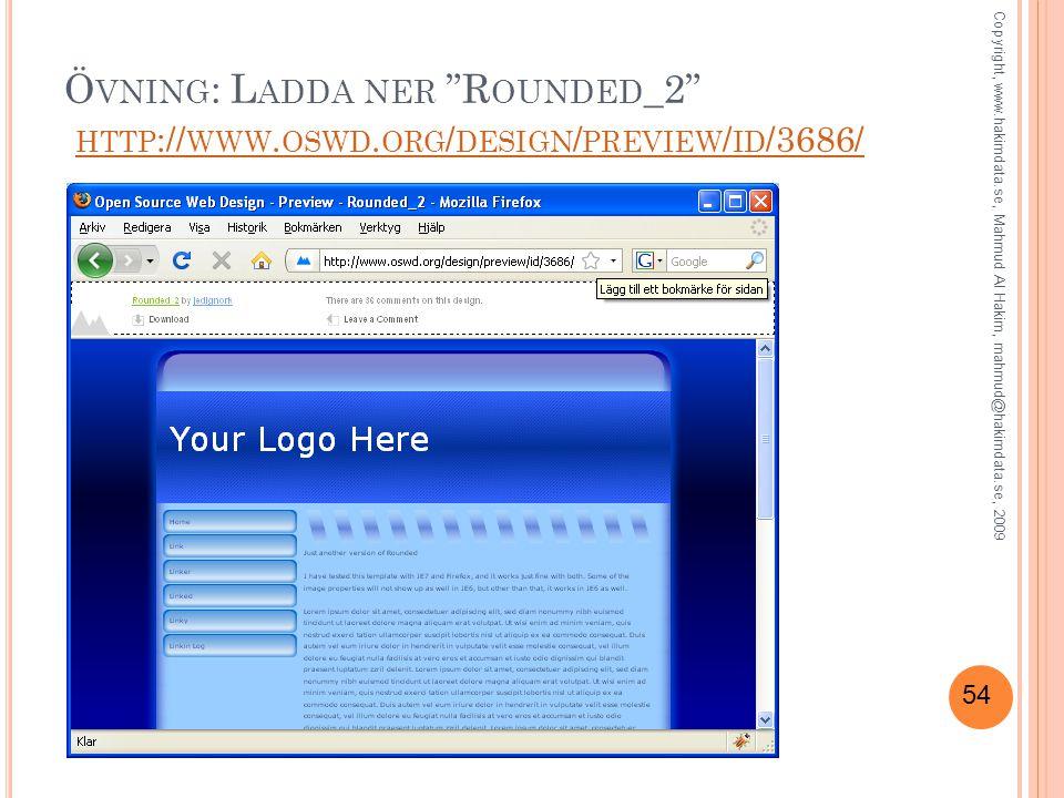 54 Ö VNING : L ADDA NER R OUNDED _2 HTTP :// WWW.