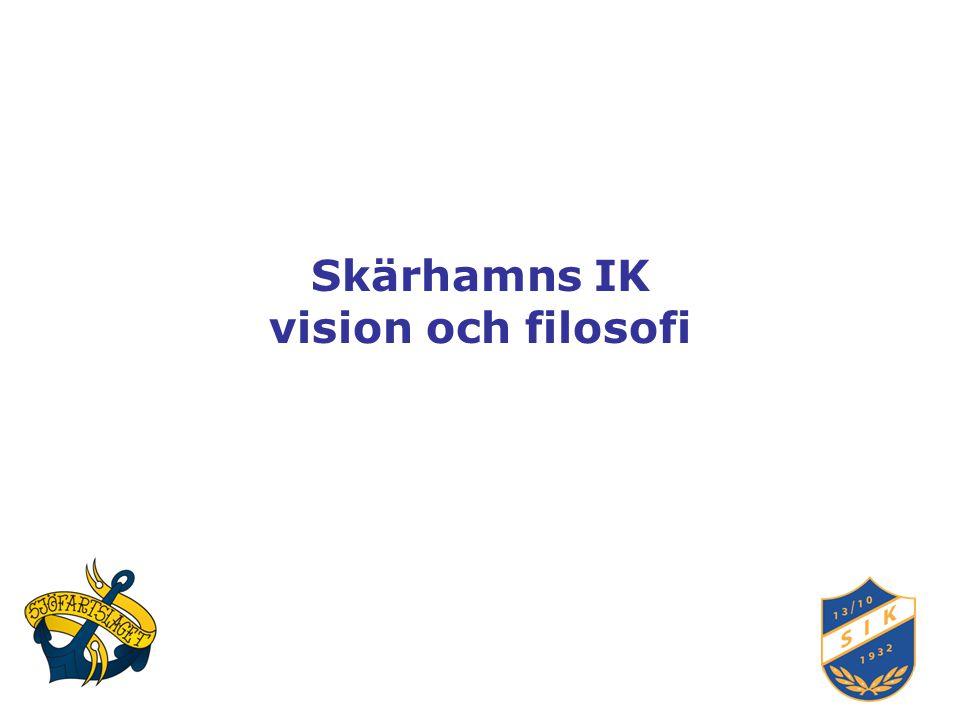 Skärhamns IK vision och filosofi