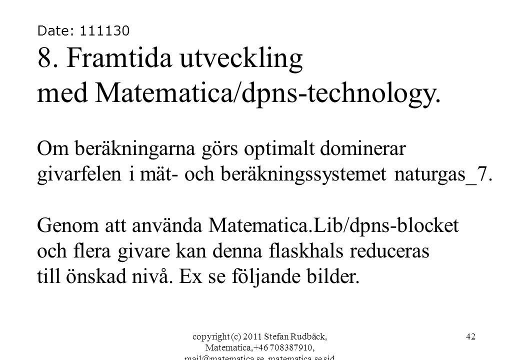 copyright (c) 2011 Stefan Rudbäck, Matematica,+46 708387910, mail@matematica.se, matematica.se sid 42 Date: 111130 8.