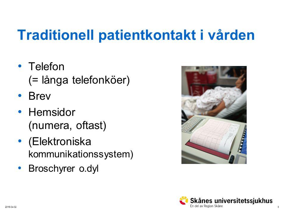 42015-04-02 Dagens verklighet 88% av alla i Sverige har internet i hemmet Daglig användning: – 2003: 25% – 2011: 69% Hälften av alla 3-åringar använder internet 52% av svenska folket besöker sociala nätverk Källa:.se (Svenskarna och internet)