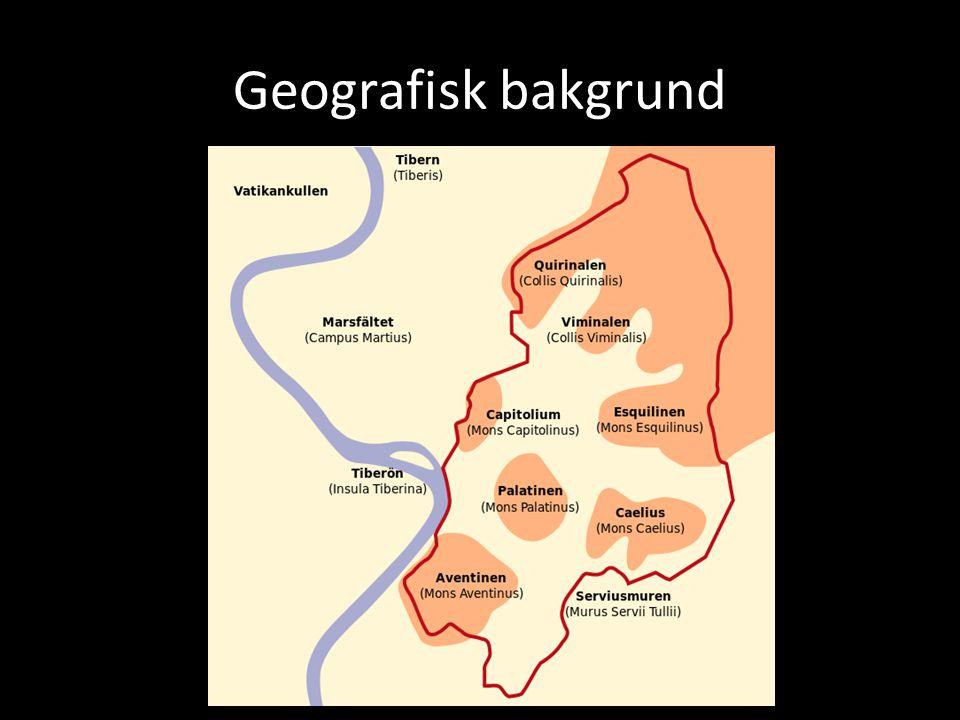 Geografisk bakgrund
