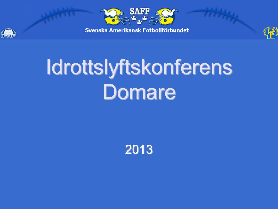 IdrottslyftskonferensDomare 2013