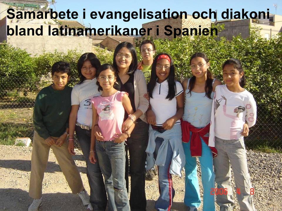 Samarbete i evangelisation och diakoni bland latinamerikaner i Spanien