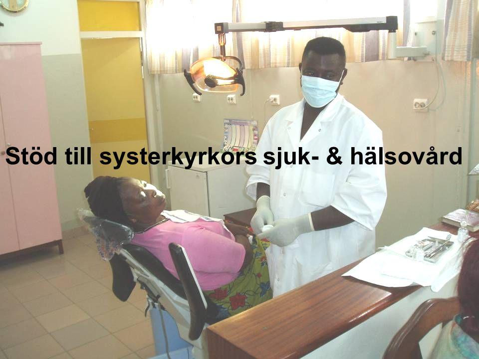 Stöd till systerkyrkors sjuk- & hälsovård