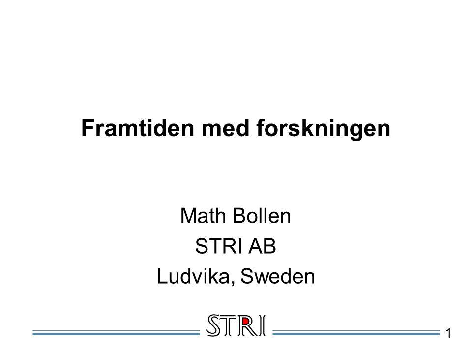 2 Dagens Agenda EMC, elkvalitet och EMC on Site , Math Bollen.