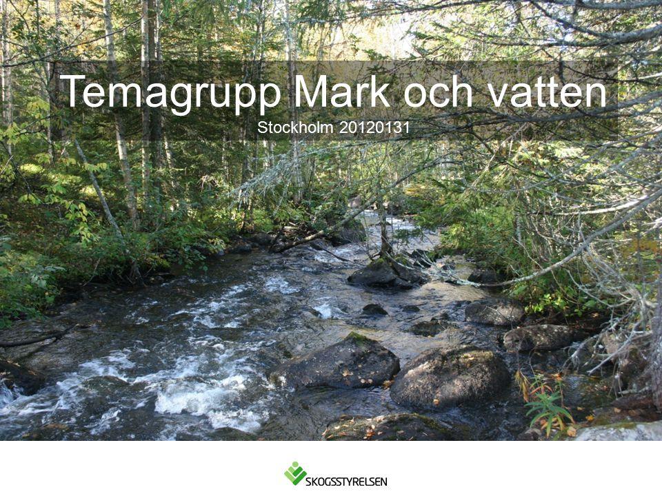 Temagrupp Mark och vatten Stockholm 20120131