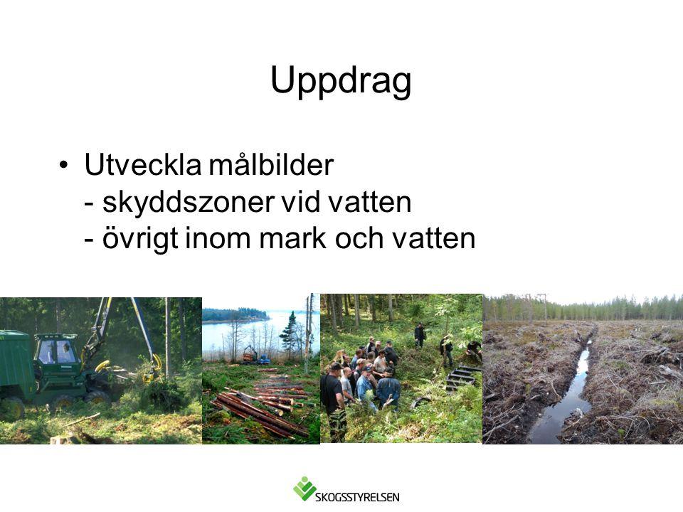 Uppdrag Utveckla målbilder - skyddszoner vid vatten - övrigt inom mark och vatten