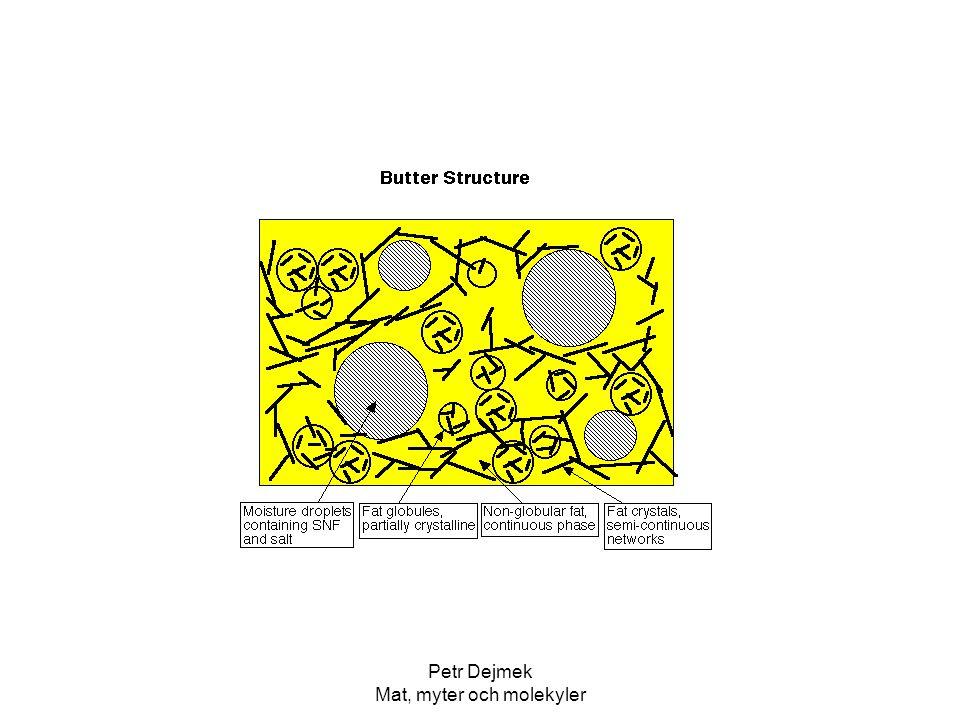 Petr Dejmek Mat, myter och molekyler