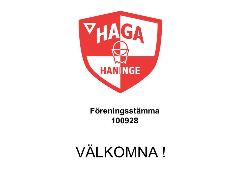 Föreningsstämma 100928 VÄLKOMNA !