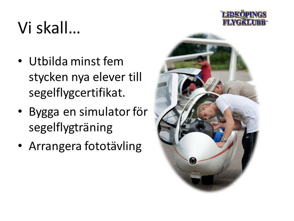 Vi skall… I samarbete med RF/Idrottslyftet, lokala grundskolor och F7 Såtenäs genomföra rekryteringskampanjer för ungdomar.