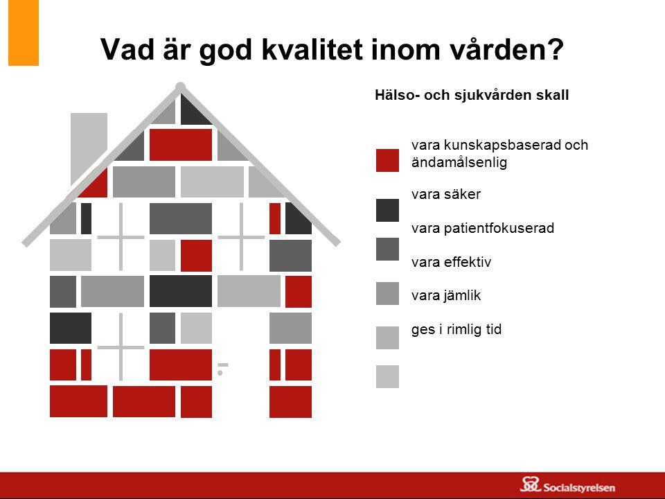 www.skane.se/Utvecklingscentrum vara kunskapsbaserad och ändamålsenlig vara säker vara patientfokuserad vara effektiv vara jämlik ges i rimlig tid Häl