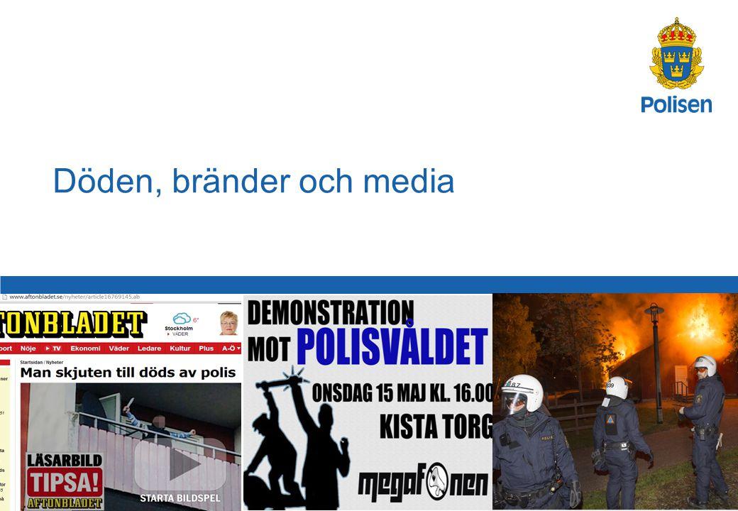1 Döden, bränder och media