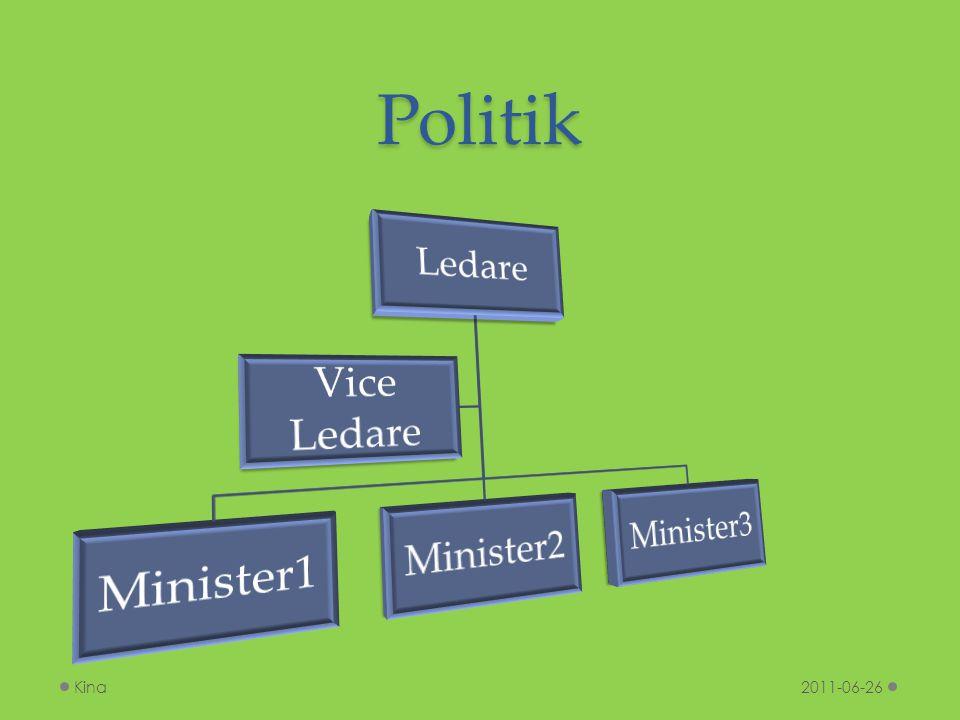 Politik 2011-06-26Kina