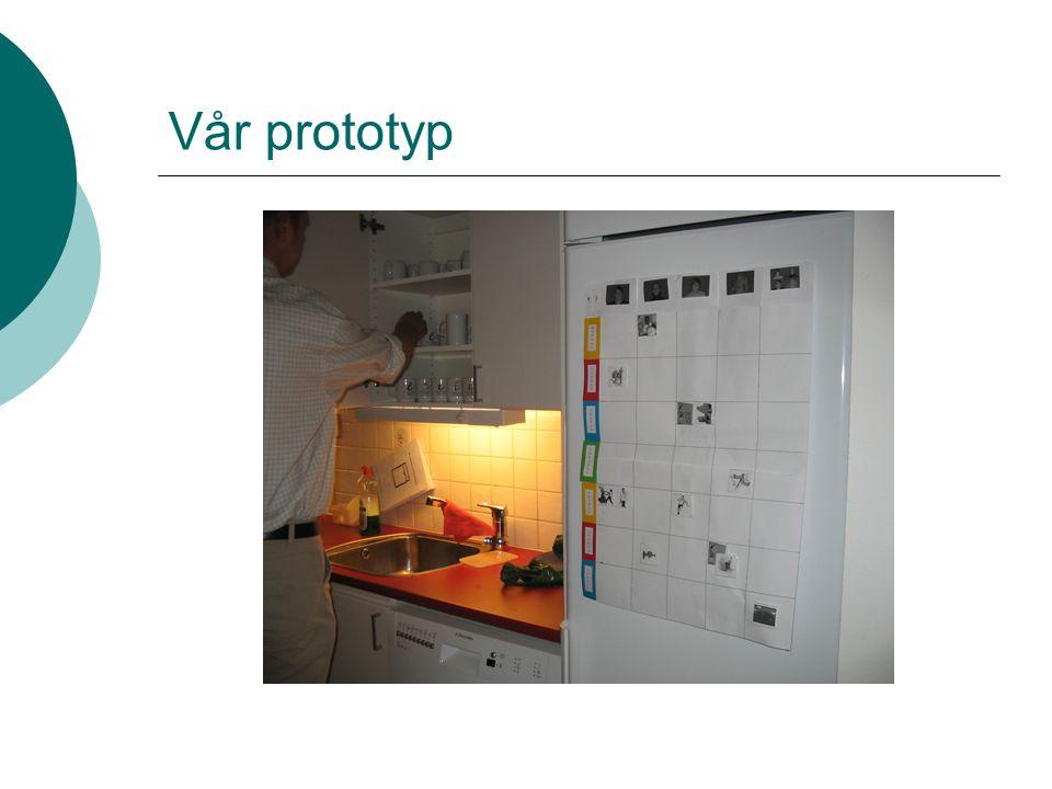 Vår prototyp