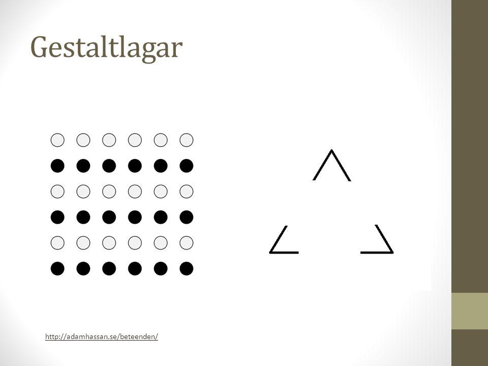 Gestaltlagar - kontinuitet