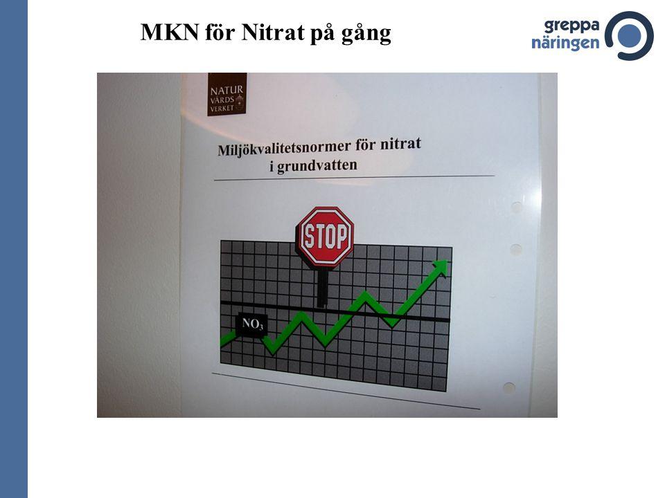MKN för Nitrat på gång