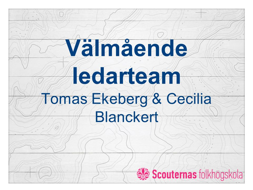 Välmående ledarteam Tomas Ekeberg & Cecilia Blanckert
