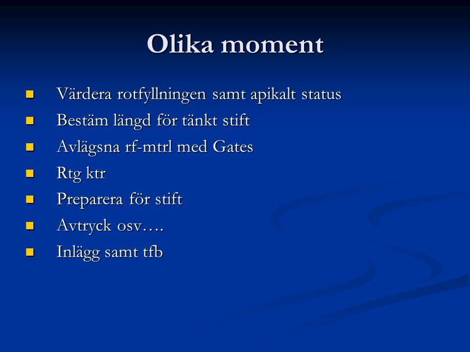 Komplikationer För mkt.Coltosol eller Zoe För mkt.