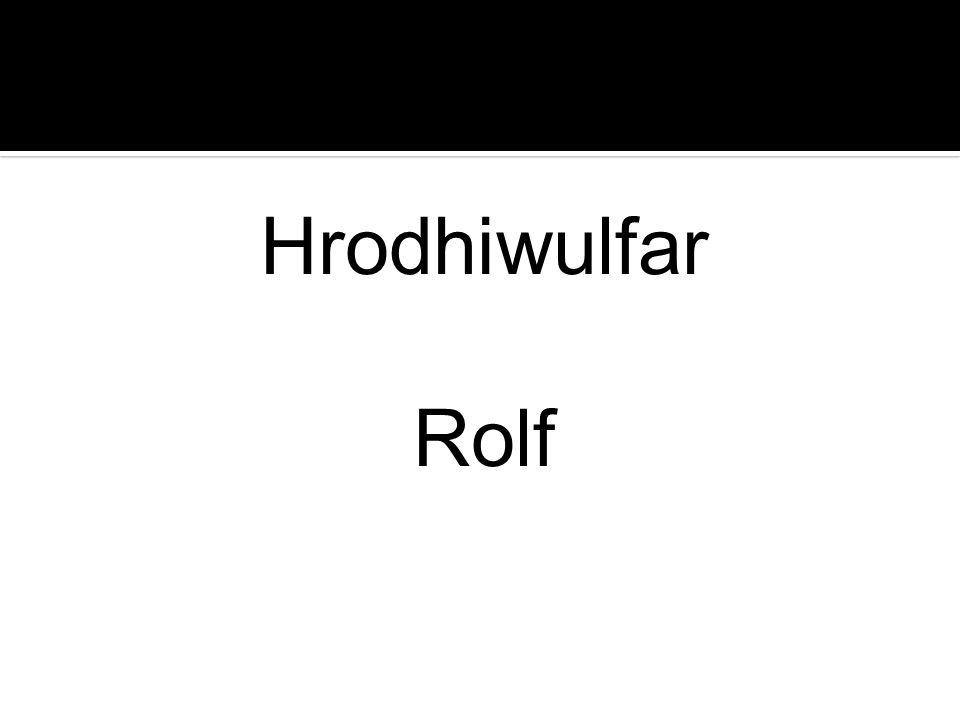 Hrodhiwulfar Rolf
