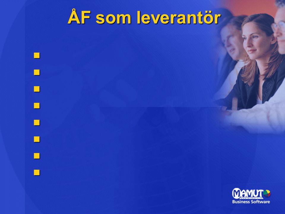 Mamut – Översikt  Grundat 1994  Börsnoterat i Oslo maj 2004  200 anställda  Omsättning –210 milj SEK (2005)  Mer än 30 produktutmärkelser  50 000 kunder, 100 000 användare Om MamutOrganisation FokusMarknader  Allt ska ingå - Redovisning, CRM, Logistik, Lön, Webb m.m.