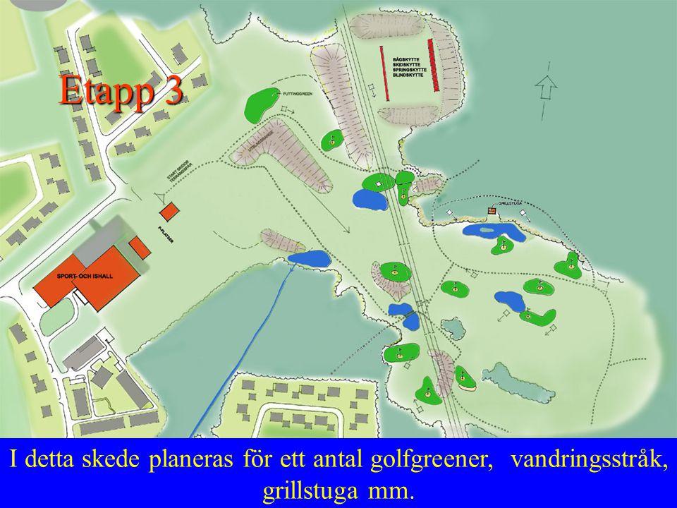 Framtida massor kan användas som naturläktare vid anläggning av en skolidrottsplats och fotbollsplan.