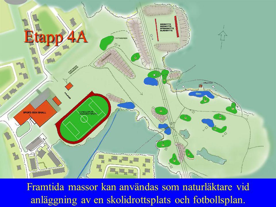 Alternativt så skippas idrottsplats till förmån för ytterligare en fotbollsplan med en total kapacitet av 4-6 st 7mannaplaner.