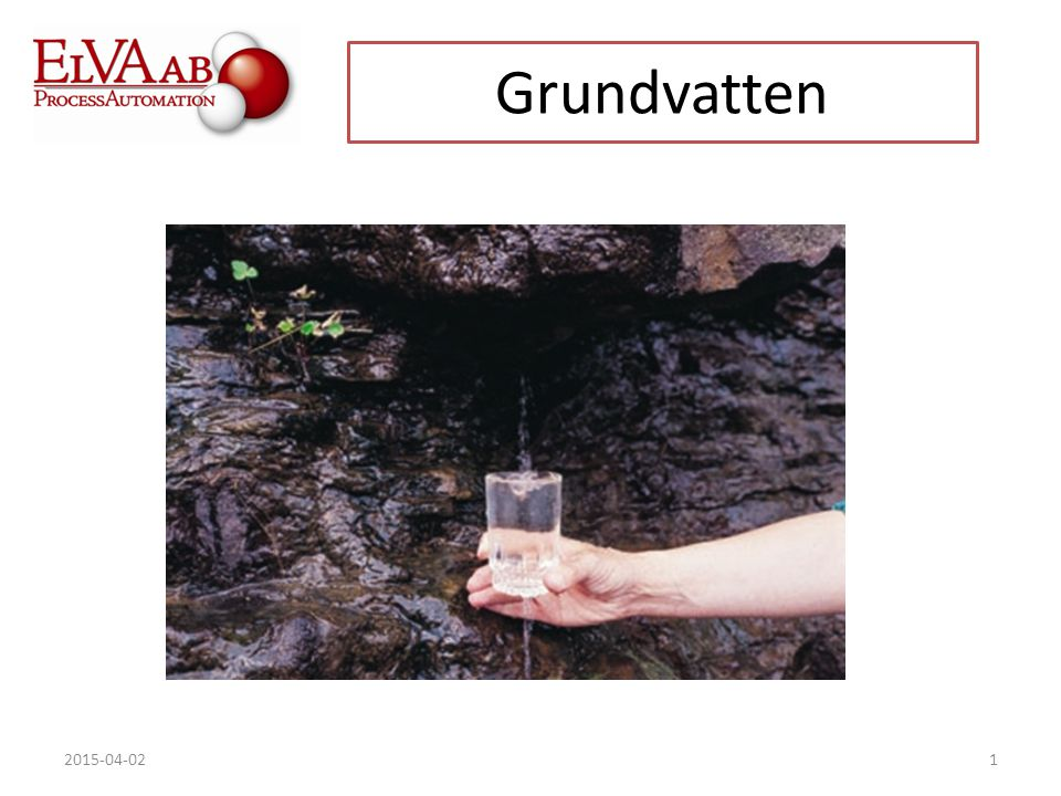 2015-04-021 Grundvatten