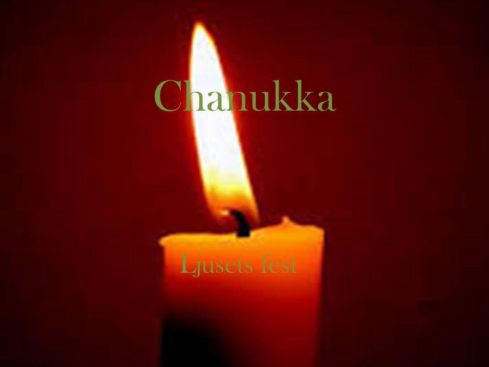 Chanukka Ljusets fest