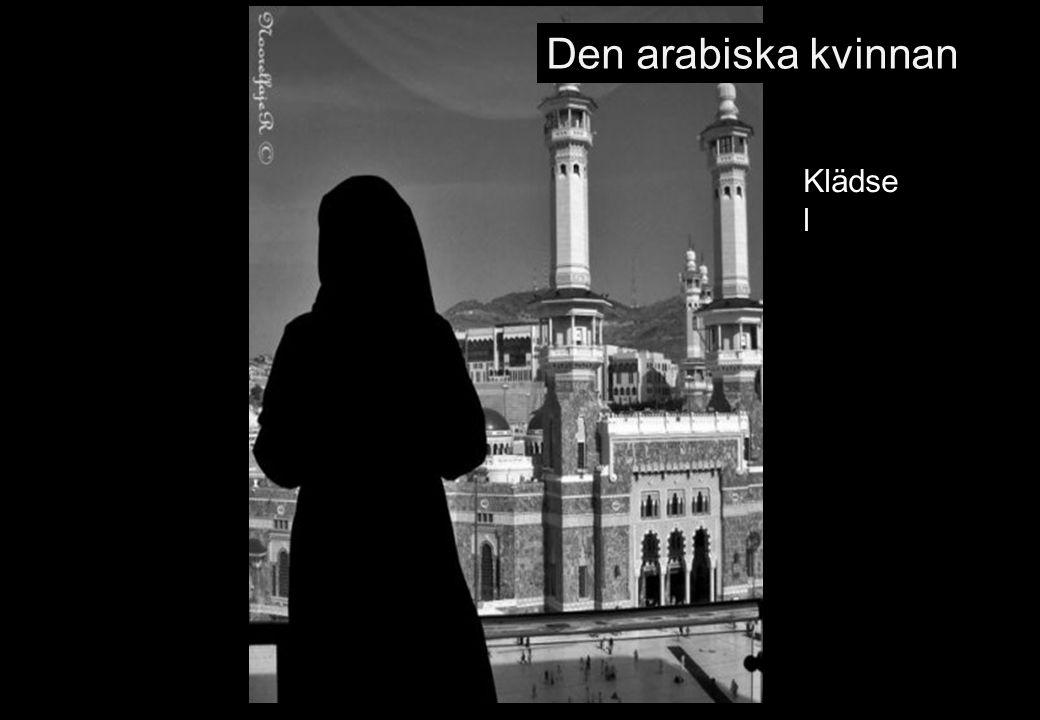 Den arabiska kvinnan Klädse l