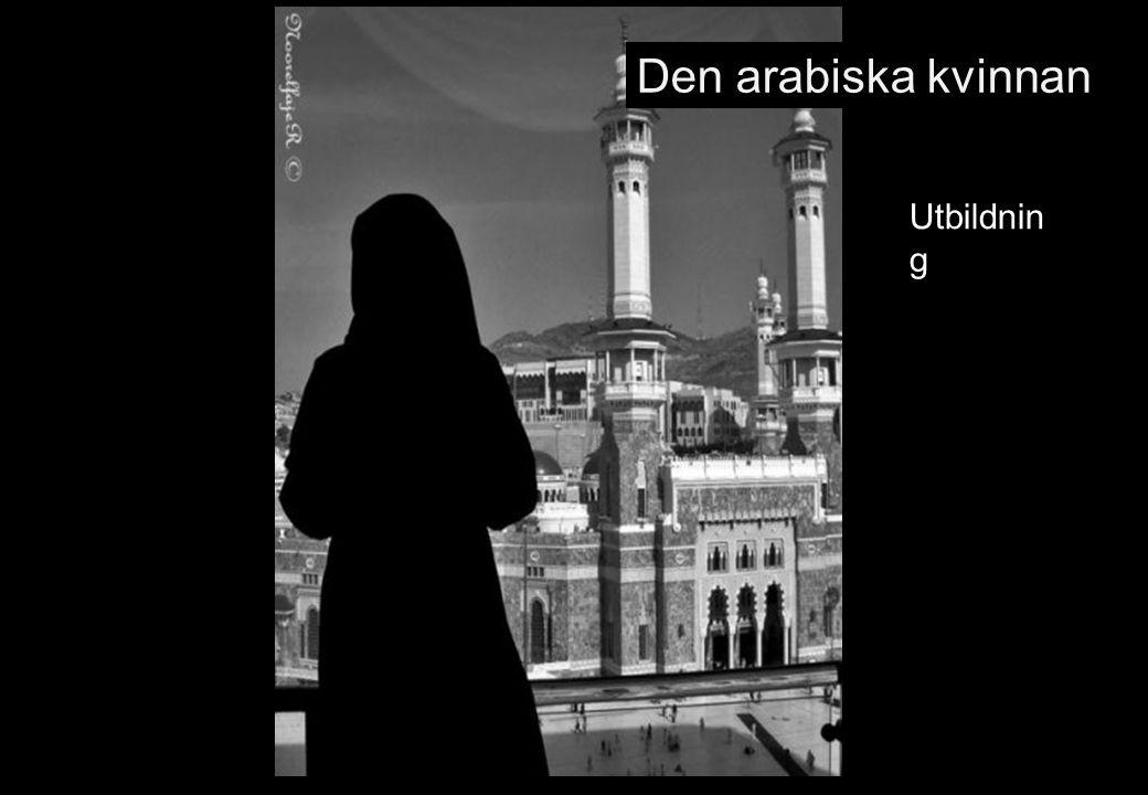 Den arabiska kvinnan Utbildnin g