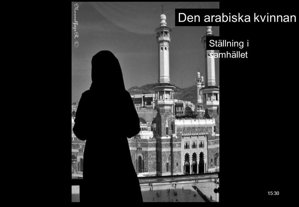 Den arabiska kvinnan 15:30 Ställning i samhället