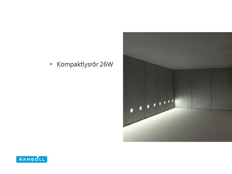  Kompaktlysrör 26W