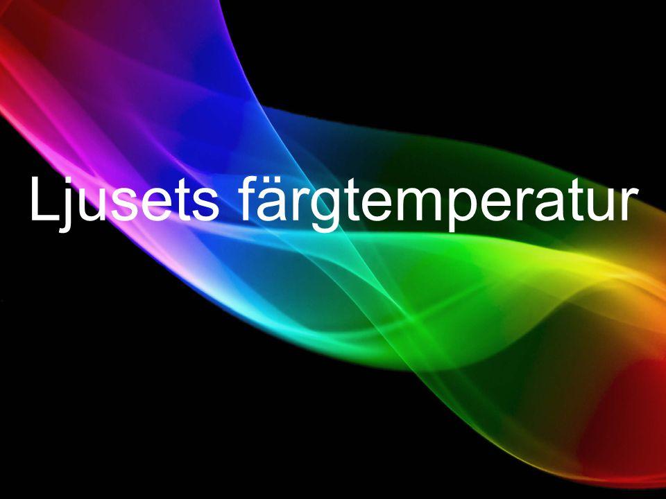 Ljusets färgtemperatur