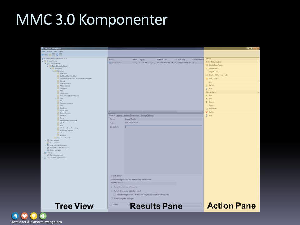 MMC 3.0 Komponenter