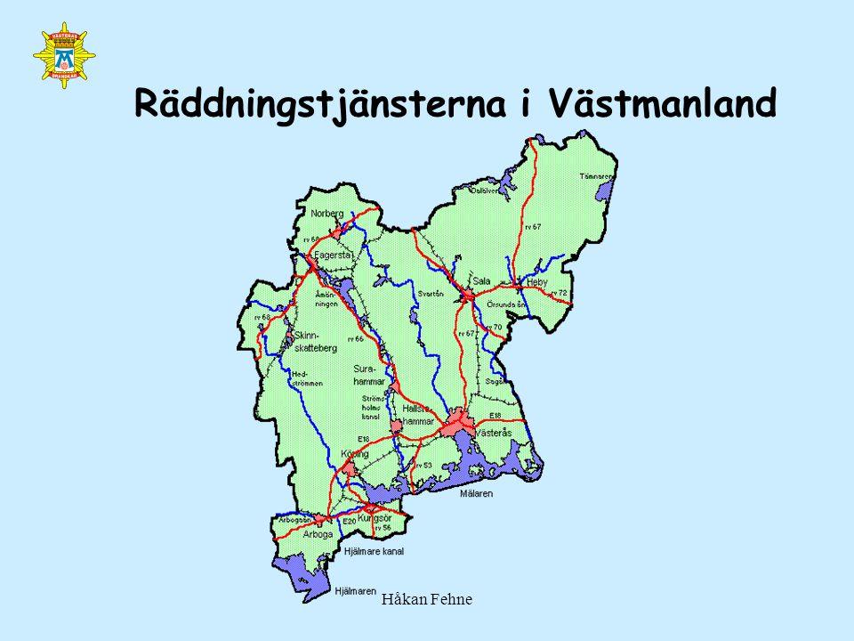 Håkan Fehne Räddningstjänsterna i Västmanland