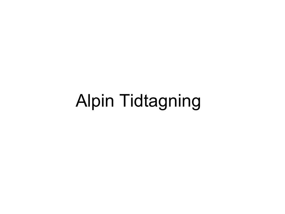 Alpin Tidtagning