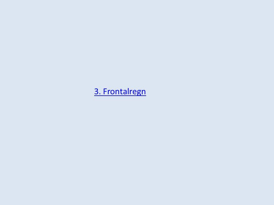 3. Frontalregn