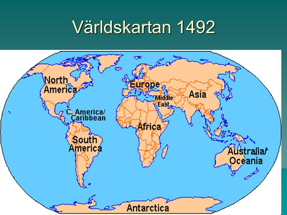 Världskartan 1492