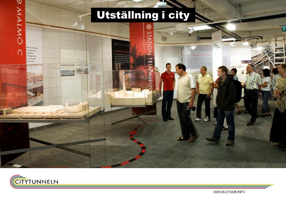 2009-08-27/AME/INFO Utställning i city