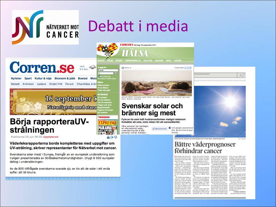 Debatt i media